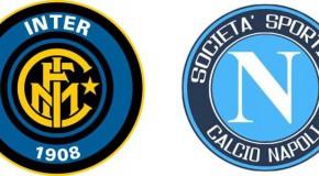 Inter-Napoli: le formazioni ufficiali.