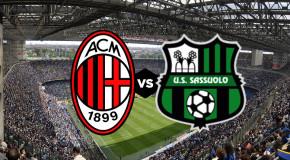 MILAN-SASSUOLO, 4-3 IL TABELLINO