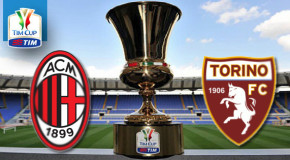 TIM CUP MILAN-TORINO, 2-1 IL TABELLINO