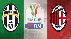 TIM CUP QUARTI DI FINALE JUVENTUS-MILAN, 2-1 IL TABELLINO