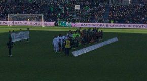 "PENNAROSSONERA PRESENTE AL MAPEI STADIUM PER ""SASSUOLO-MILAN"""
