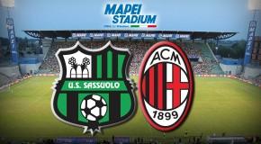SASSUOLO-MILAN, 0-1  IL TABELLINO
