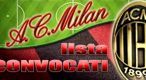 MILAN-BRESCIA: I CONVOCATI DA MISTER GIAMPAOLO