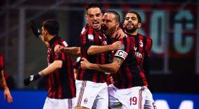 MILAN-SAMPDORIA: 1-0 IL TABELLINO