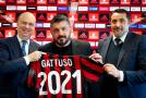 MILAN: GATTUSO RINNOVA SINO AL 2021