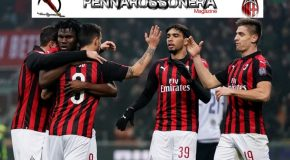 MILAN-CAGLIARI: 3-0 IL TABELLINO