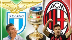LAZIO-MILAN, SEMIFINALE TIM CUP: FORMAZIONI UFFICIALI