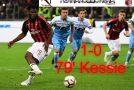 MILAN-LAZIO 1-0 IL TABELLINO