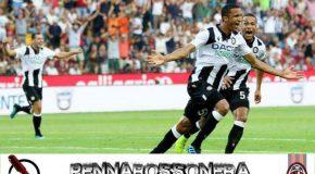UDINESE-MILAN 1-0 IL TABELLINO