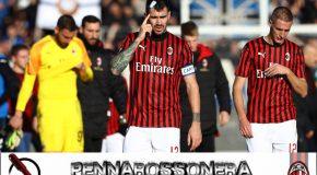ATALANTA-MILAN 5-0: IL TABELLINO